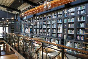 Die Bibliothek des Robbe & Berking Yachting Heritage Centre