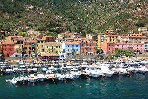Giglio Porto - der Hafen von Giglio. Foto: Gimsan, Fotolia