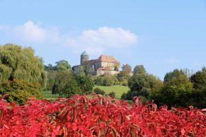 Burg Colmberg zwischen Lehrberg und Rothenburg o.d.T.