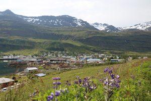 Seydisfjördur ist der Fährhafen von Island nach Dänemark