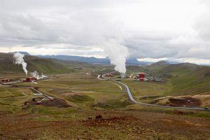 das Krafla Geotermalkraftwerk Kröflustöd