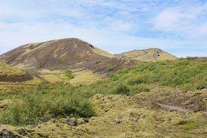 """der """"Hausvulkan"""" von Bifröst: der Krater des Grabrok"""