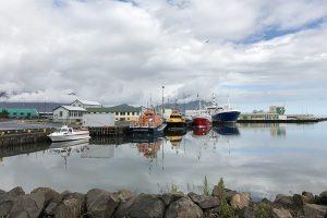 der Hafen von Höfn an der Südostspitze Islands