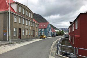 Spaziergang durch Isafjördur in den Westfjords