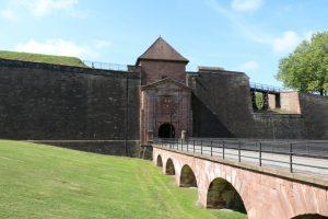 das Elsässische Stadttor in Belfort
