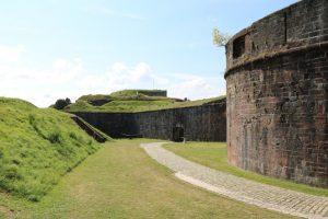 in der Zitadelle von Belfort
