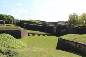 die Befestigungswerke von Belfort im Norden der Altstadt