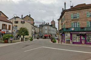 das Ortszentrum von Fougerolles