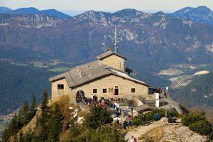 das Kehlsteinhaus - erbaut im Auftrag von Adolf Hitler. Heute mit das beliebteste Ausflugsziel im Berchtesgadener Land