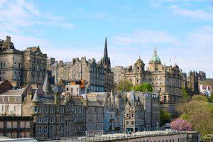 """die """"Old Town"""" von Edinburgh"""
