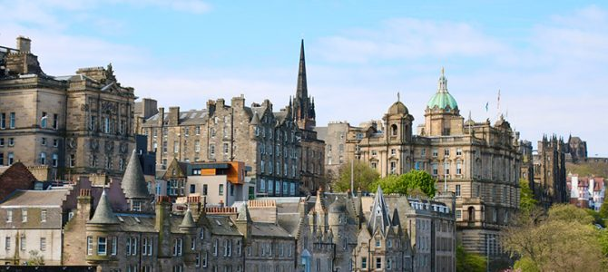 Edinburgh – die Schottische Kapitale