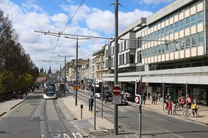 """die Princes-Street - besser bekannt auch als die """"Shopping Meile"""""""
