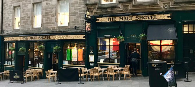 Gastrotipp: Malt Shovel Inn in Edinburgh