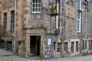 The Writers Museum - den wahren Ursprung des Hauses erfährt man bei Dougie
