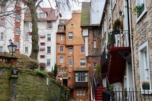 The Ramsay Gardens - exklusives Wohnen im Herzen von Edinburgh