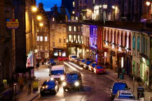 Victoria Street by night