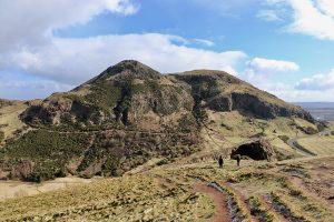 """Arthur´s Seat - der 251 Meter hohe """"Hausberg"""" von Edinburgh"""