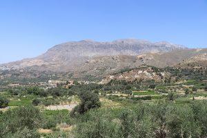 der 1860 Meter hohe Koudouni bildet den östlichen Abschluss des Mount Ida