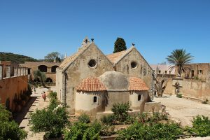 die Kirche im Kloster Arkadi