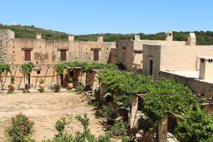 die Klosteranlage Arkadi