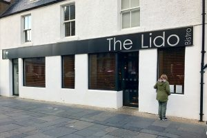 "das Bistro ""The Lido"" in Stornoway"