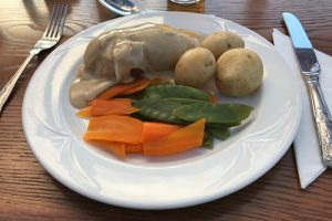 """""""stuffed chicken"""": Hühnchen gefüllt mit Haggis"""