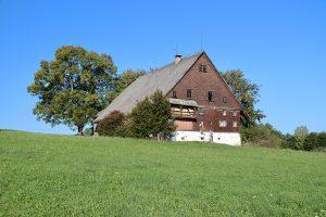 """Die Geschichte des """"Tonishof"""" beginnt bereits vor dem Jahr 1350 - vor bald 700 Jahren hatte er eine Größe von rund 262 Hektar. Seit Ende der 1980er Jahre ist der Hof aufgegeben."""