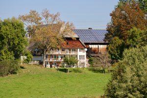 """Der """"Kammerersbur Hof"""": der erste Hofbauer hier ist auf das Jahr 1744 urkundlich festgehalten."""