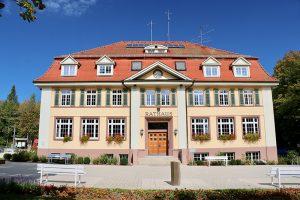 Schmuck: das Rathaus von Königsfeld