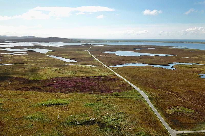 """im Sommer ist South Uist die Insel der """"blühenden Landschaften"""""""