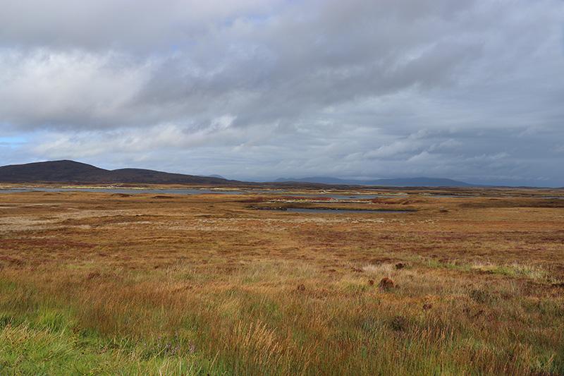 North-Uist - mit Blick nach Norden Richtung Harris