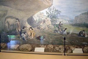 Im Museum des Cap Blanc nahe Les-Eyzies