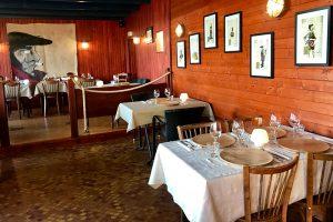 Der Gastraum des Restaurant Les Bouchons