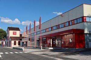 die Distillerie Grandes Distilleries Peureux in Fougerolles