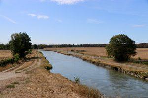 der Canal Latéral à la Loire nördlich von Nevers
