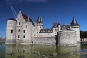 """Wasserschloss """"Sully sur Loire"""" - oder ein Schloss im Wasser?"""
