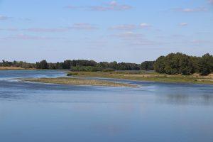 die Loire-Schleife bei Guilly