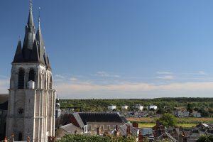 Blick über Blois nach Süden