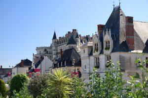 Blick auf das Château d'Amboise