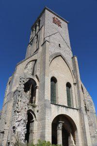 """die Türme der Kathedrale des verbliebenen """"Martinopolis"""" in Tours"""