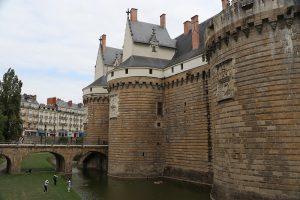 """Das Schloss der """"Ducs de Bretagne"""""""