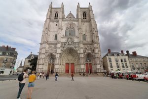 die Kathedrale von Nantes
