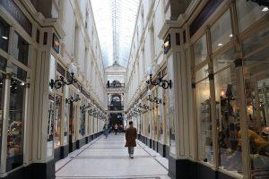 """die Einkaufs-""""Passage Pommeraye"""""""