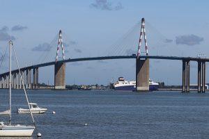 3,3 Kilometer lang: die Pont de Saint-Nazaire