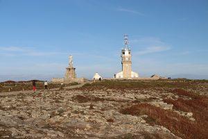 am westlichsten Punkt von Frankreich: der Leuchtturm am Pointe du Raz