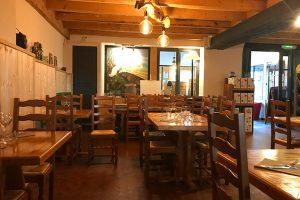 Im Restaurant des La Vigotte