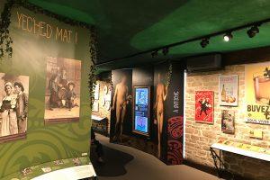 """das Cidre-Museum der die Ciderie """"Kerne"""" in Pouldreuzic"""