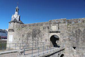 """das äußere Tor zur """"Ville close"""" von Concarneau"""