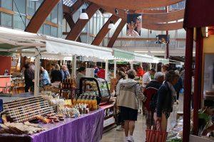 die Markthalle von Quimper - modern mit qualitativ hochwertiger Ware