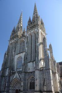 die Kathedrale von Quimper